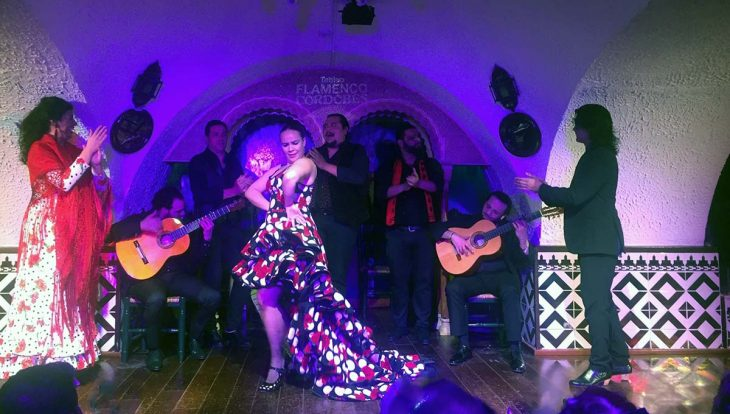 flamenco en el tablao Cordobés