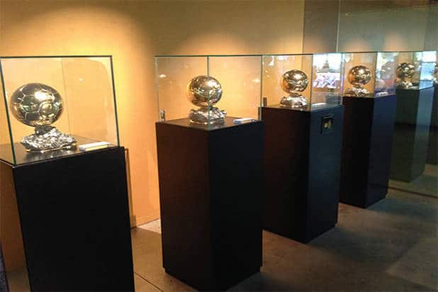 Balones museo FC Barcelona