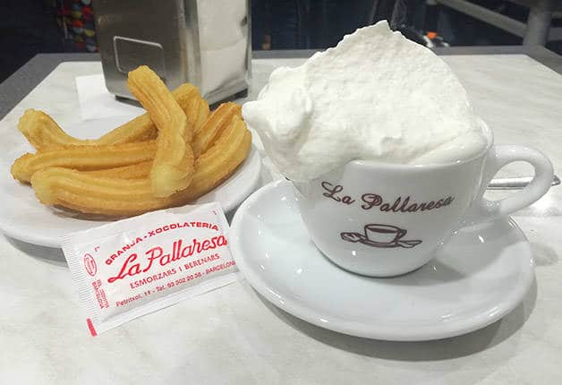 pallaresa chocolate caliente