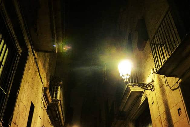 Ghost Walking Tour calles oscuras