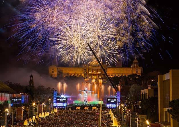 Fiestas de Nochevieja 2017 en Barcelona