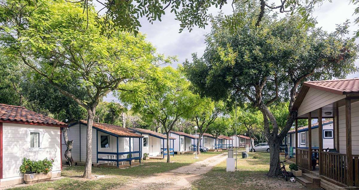 camping sitges bungalows
